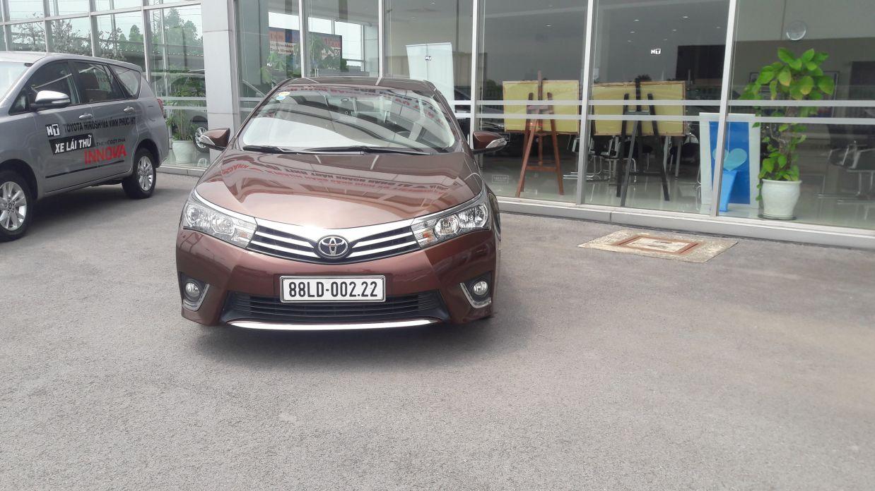 Toyota Altis 2014 Da Qua Su Dung